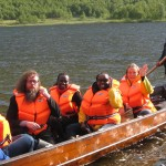 Excursion to the Sami camp Geunja with boat for those who did not hike.. Photo CO.