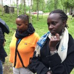 Tour around Ammarnäs, Fibby Kioria & Zippy Kimundu. Photo JP.