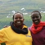 Program director and director Fibby Kioria and Zippy Kimundu. Photo GE.